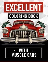Excellent Coloring Book With Muscle Cars