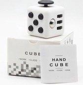 Fidget Cube - Friemelkubus Wit/Zwart