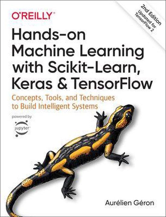 Boek cover Hands-on Machine Learning with Scikit-Learn, Keras, and TensorFlow van Aurelien Geron (Paperback)