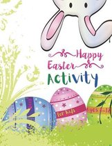 Happy Easter Activity Book for Kids Ages 8-12