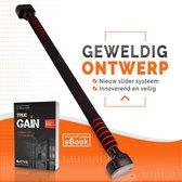 Bative® Innovatieve Optrekstang voor tussen Deur – incl. E-book bij Pull Up Bar – Krachttraining – 78 t/m 110 cm – Maximaal 300KG
