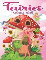 Fairies Coloring Book: For Kids Ages 4-8
