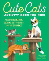 Cute Cats Activity Book for Kids