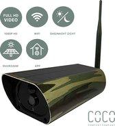 Comfort Company Wildcamera met Nachtzicht - Zonnepaneel - Full HD - Buiten camera met live wifi functie - Wildlife camera