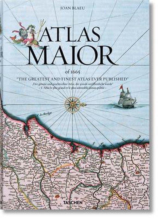 Boek cover Joan Blaeu. Atlas Maior of 1665 van Joan Blaeu (Hardcover)