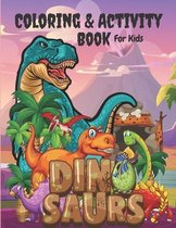 Coloring & Activity Book for kids