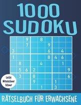 1000 Sudoku Ratselbuch fur Erwachsene