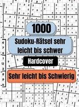 1000 Sudoku-Ratsel sehr leicht bis schwer, HARDCOVER