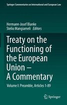 Treaty on the Functioning of the European Union - A Commentary: Volume I