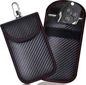 Autosleutel Hoesje - Antidiefstal Beschermhoes - RFID Blocking - Auto Sleutel Etui - 14 x 9 cm - Zwart