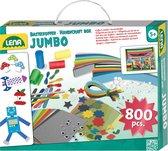 Lena Knutselset Jumbo Junior 35,5 Cm Karton Turquoise 800-delig