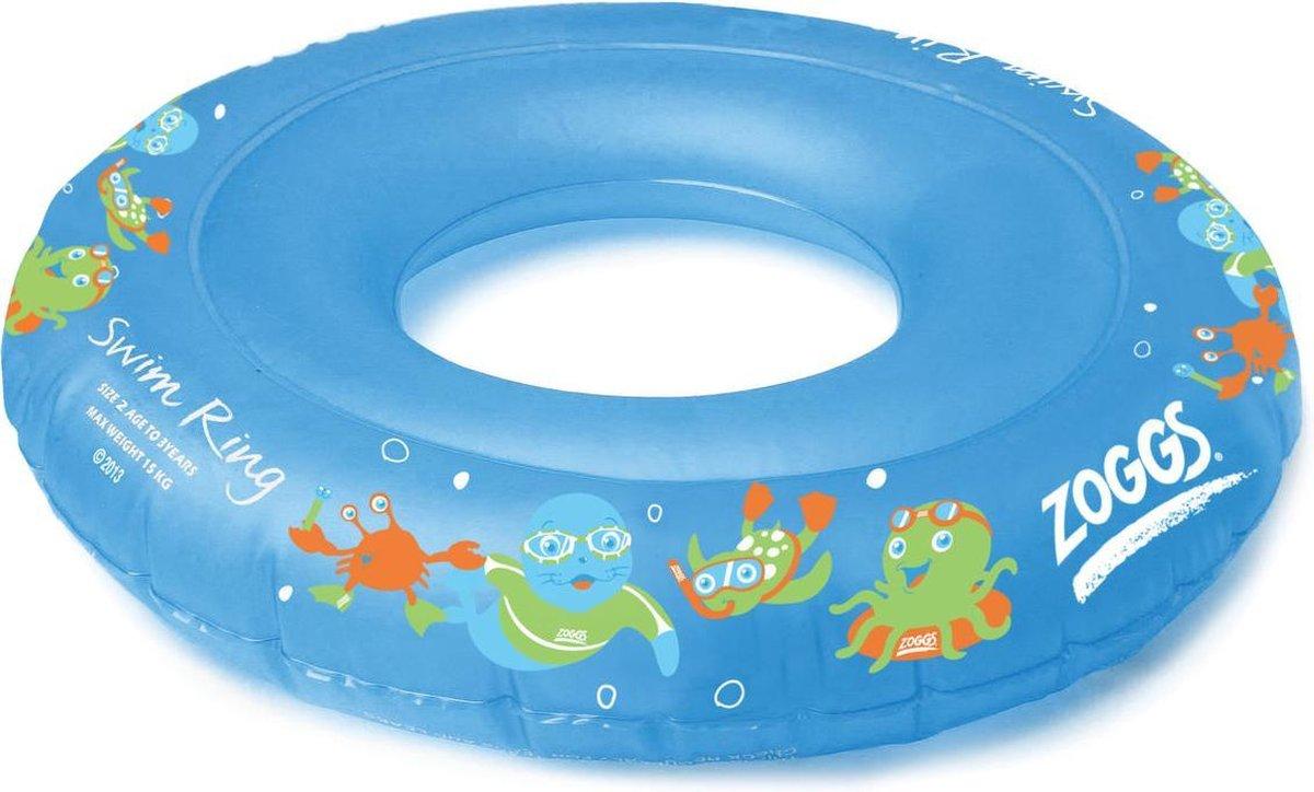 Zoggs - Zoggy Zwemband - Zwemring - Opblaasbaar - Blauw - Maximum 15 kg - Maat 2/3 jaar