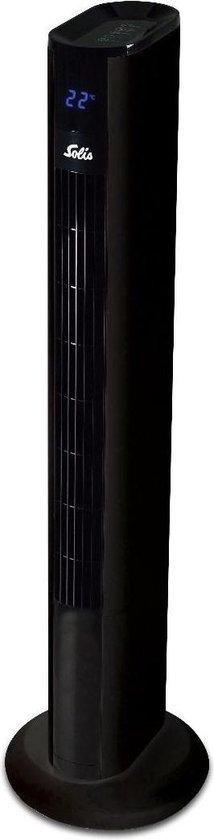 Solis Easy Breezy 757 Toren Ventilator Staand met Afstandsbediening - 91 cm - Zwart