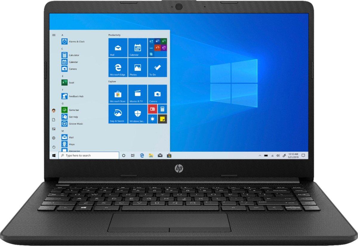 HP 14 inch laptop - AMD 3050U - 4GB RAM - 128GB SSD - Zwart - incl. 1 jaar Office 365 Personal & GRATIS BullGuard Antivirus t.w.v €60! (1 jaar, 3 apparaten)