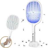 PrimeHome 2-in-1 Vliegenmepper en Insectenlamp - Inclusief Schoonmaakborstel - Elektrische Vliegen & Insecten Mepper