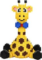Balody Zittende Giraffe - Nanoblocks - bouwset / 3D puzzel - 1300 bouwsteentjes