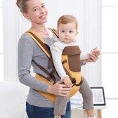 Baby Draagzak 4-in-1 Extra Comfort   - Buikdrager - 0 - 36 maanden - Beer Thema