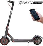 EasyGO X1-TURBO   Compact/Lichtgewicht   Max. Snelheid 30 km/u   Cruise control   Max. actieradius 45km   Max. 500W Motor  iOS/Android App   Anti-lek banden