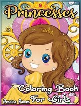 Princesses Coloring Book for Girls