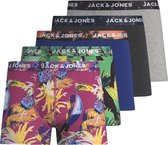 JACK&JONES JUNIOR JACJOHNNY TRUNKS 5 PACK JR Jongens Onderbroek - Maat 152