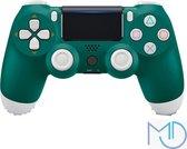 Kwalitatief Goede Wireless Controller - V2 - Geschikt voor PS4 - Groen
