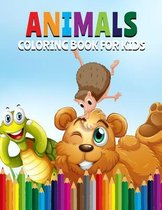 Animals Coloring Book For Kids