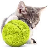 Magic Roller Ball - Automatisch Rollende Bal - Voor honden en katten - Honden speelgoed - Katten speelgoed - Premium kwaliteit - 4 verschillende hoezen kleurrijke - Met gratis batterijen - Gratis verzending
