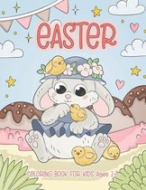 Easter Coloring Book for Kids Ages 2-5