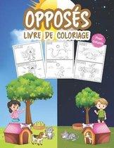 Opposes Livre de Coloriage pour Enfants