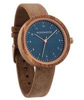 De officiële WoodWatch   Malmo Beige   Houten horloge dames