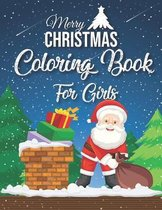 Merry Christmas Coloring Book For Girls