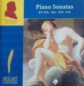 Mozart Piano Sonatas KV 533-54-570-576