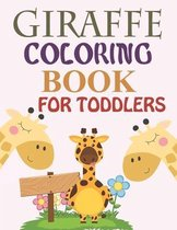 Giraffe Coloring Book For Toddlers