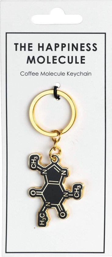 Koffie (Cafeïne) Molecuul Sleutelhanger   Koffie Cadeau   Koffie Geschenk Ideëen   Coffee To Go   Koffieliefhebbers    Cafeïne Junkie