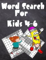 Word Search For Kids 4-6