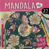 Mandala kleurboek volwassenen - kleurplaten van planten en bloemen