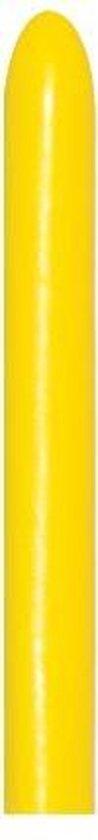 260 - Yellow - sempertex - 50 Stuks - modeleerballon, kindercrea