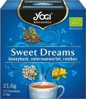 YOGI Sweet Dreams Biologische thee 8x12 zakjes