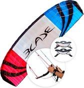 Flexifoil 4.9m² Blade 2021 Sport Traction Power Kite met lijnen en handvatten