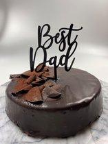 Caketopper Best Dad Vaderdag