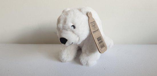 Eco Buddies knuffel - ijsbeer knuffel - Recicled plush toy - 20cm