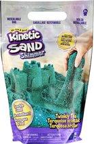 Kinetic Sand - Sprankelend Blauwgroen Natuurlijk Glinsterend Zand - 907 g