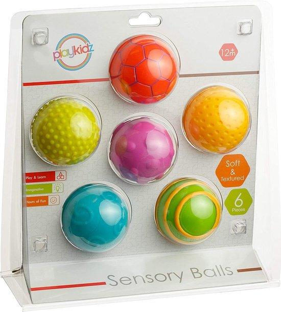 Afbeelding van het spel Playkidz Sensory Balls - Senrorische Ballen Set
