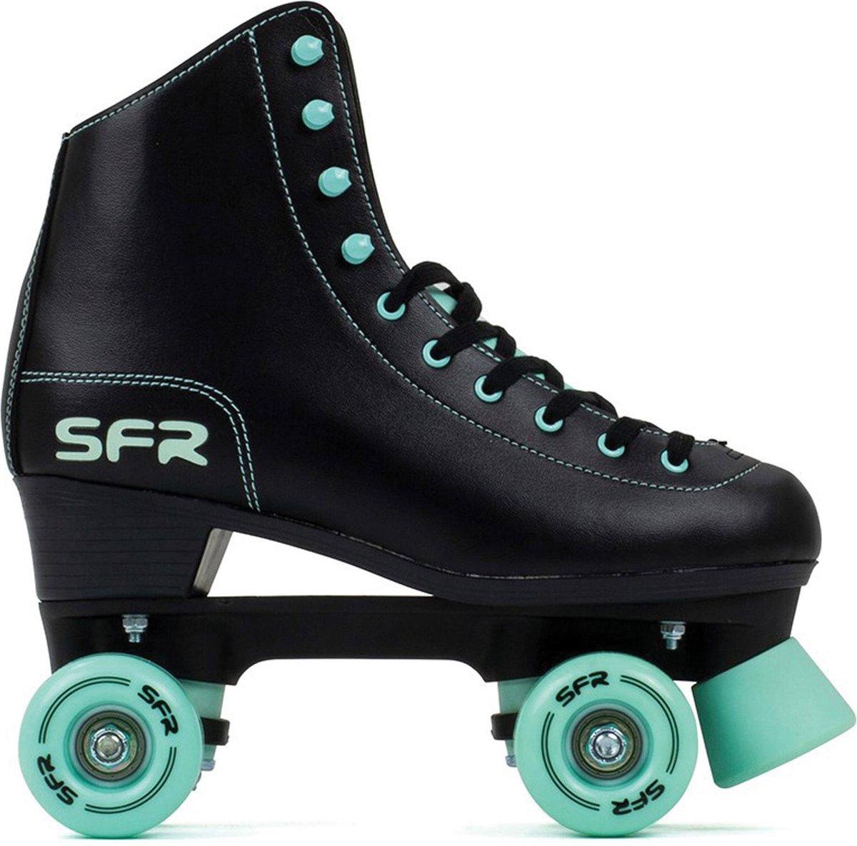 SFR Rolschaatsen - Maat 35.5Kinderen - Zwart/Mint groen