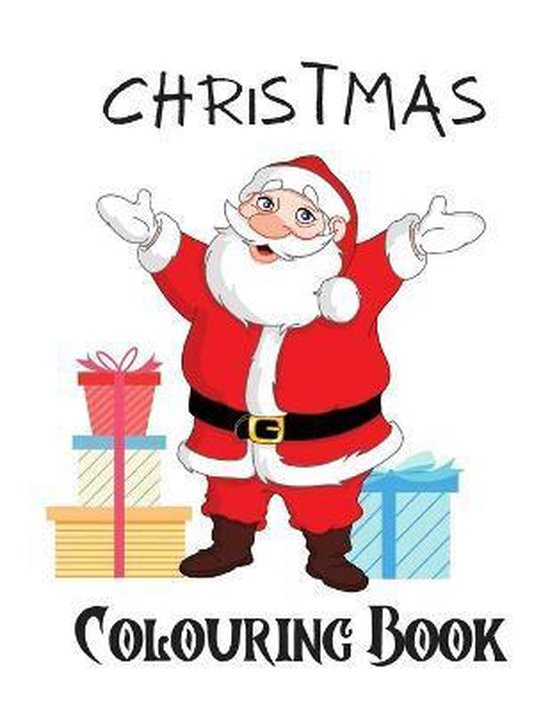 Christmas colouring book for boys and girls