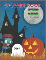 Coloring Book For Kids Halloween: