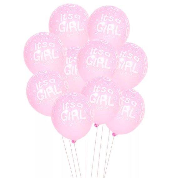 LOHECO® Roze Ballonnen Set 15 stuks - It