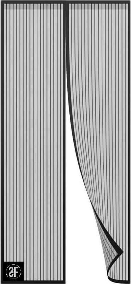 ºFROYS Zwart - Vliegengordijn - 100x210 cm - Magneet - Deurhor - Insectenhor - Klamboe - Anti insect