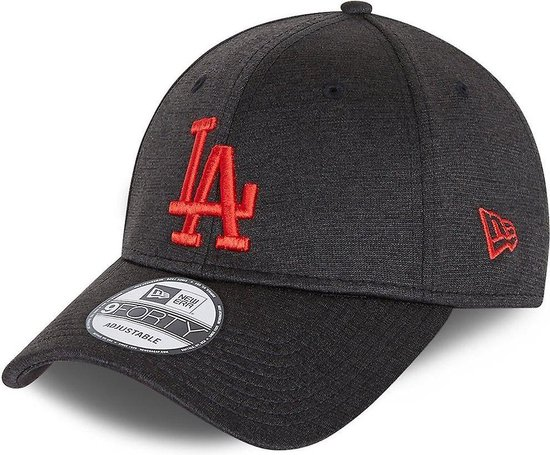 New Era 9Forty Cap-SHADOW TECH Los Angeles Dodgers LA zwart Oranje/Rood