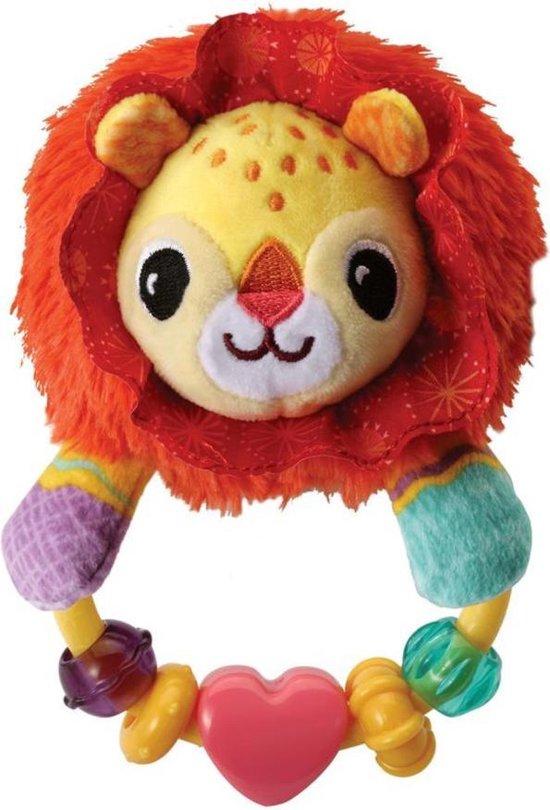 VTech - Baby Dierenvriendjes Rammelaar - Leeuw - Educatief Babyspeelgoed - 3 tot 18 maanden